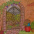 Garden Gate by Debbie Portwood