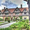 Garden Of Cecilenhof Palace Germany by Jon Berghoff