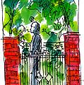 Garden Philadelphia by Marilyn MacGregor