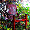 Garden Seating by Pamela Patch