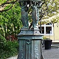 Garden Statuary In The French Quarter by Alys Caviness-Gober