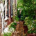 Garden Walkway by Darleen Stry