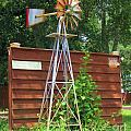Garden Windmill by Michelle Powell