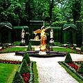 Gardens Of Linderhof Castle II by Ellen Heaverlo
