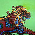 Gargoyle Dog by Genevieve Esson