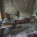 Garnet Ghost Town Hotel Parlor - Montana by Daniel Hagerman