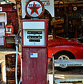 Gas Pump - Texaco Gas Globe by Paul Ward