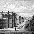 Gasometers, Artwork by Cci Archives