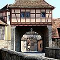 Gate House - Rothenburg by Christiane Schulze Art And Photography