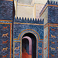 Gate Of Ishtar, Babylonia by Photo Researchers