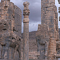 Gate Of Xerxes by Photo Researchers