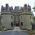 Gate To Chateau De La Bretesche by Carla Parris