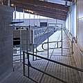Gated Railing In A Cowshed by Jaak Nilson