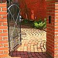Gateway To A Garden by Laurel Talabere