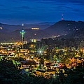 Gatlinburg And The Smokey Mountains by Brian Young