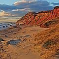 Gayhead Cliffs Marthas Vineyard by Dave Mills