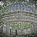 Gazebo At Longwood Gardens by Trish Tritz
