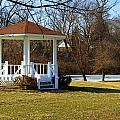Gazebo In The Park by Mike Stanfield