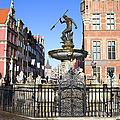 Gdansk Old City In Poland by Artur Bogacki