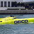 Geico Race Boat by Rudy Umans