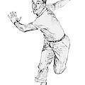 Gene Kelly by David Lloyd Glover