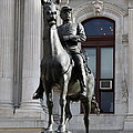 General Mc Clellan Statue - Philadelphia by Christiane Schulze Art And Photography