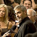 George Clooney At Arrivals For Michael by Everett