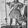 George Cumberland (1558-1605). George De Clifford Cumberland. 3rd Earl Of Cumberland. English Naval Commander And Courtier. Line Engraving, English, Early 19th Century by Granger