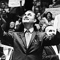 George Wallace Acknowledges The Cheers by Everett