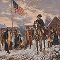George Washington At Valley Forge by Steve Straub
