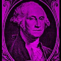 George Washington In Purple by Rob Hans