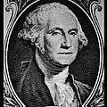 George Washington In White by Rob Hans