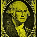 George Washington In Yellow by Rob Hans