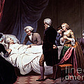 George Washington On His Death Bed by Photo Researchers