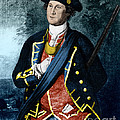 George Washington, Virginia Colonel by Photo Researchers, Inc.