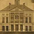 George Washingtons First Inauguration by Everett