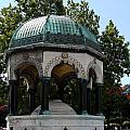 German Fountain - Istanbul by Christiane Schulze Art And Photography