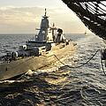 German Sachsen-class Frigate Hessen by Stocktrek Images