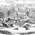 Germany: Dog Racing, 1859 by Granger