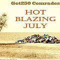 Get250 Comrades July Logo by Stav Stavit Zagron