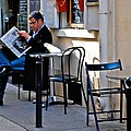Getting The Morning News by Eric Tressler