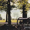 Gettysburg Artillery by Barbara Plattenburg