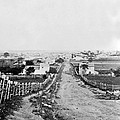 Gettysburg Battlefield - Vintage C 1870 by International  Images