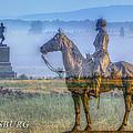 Gettysburg Battlefield by Randy Steele