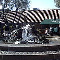 Ghiradelli Square Mermaid Fountain by Vanessa Beck