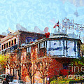 Ghirardelli Chocolate Factory San Francisco California . Painterly . 7d14093 by Wingsdomain Art and Photography