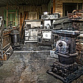 Ghost Town Stove Storage - Montana State by Daniel Hagerman