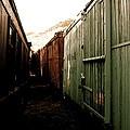Ghost Train Yard by Travis Burns
