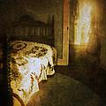 Ghostly Figure In Hallway by Jill Battaglia