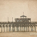 Ghostly Pier by Bob and Nancy Kendrick